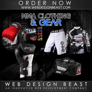 mma clothing & gear development