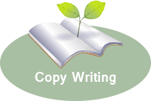 green writing icon